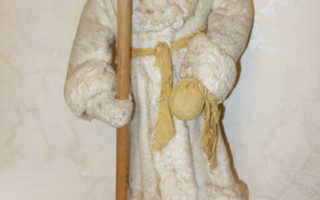 Реставрация деда мороза ссср