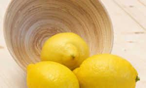 Вода с лимоном сжигает жир