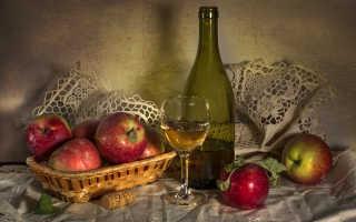 Алкогольный напиток из яблок в домашних условиях