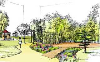 Ландшафтный дизайн планировка участка