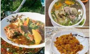 Блюда на мангале в казане рецепты