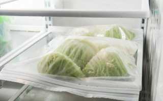 Как сохранить нашинкованную капусту
