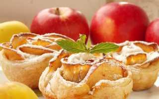 Сдоба с яблоками рецепт