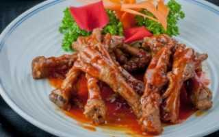 Маринованные куриные лапки по армянски
