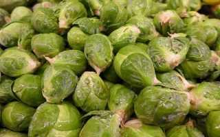 Как заморозить брюссельскую капусту в домашних условиях