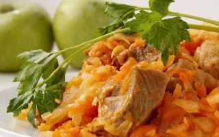 Как правильно тушить капусту с мясом