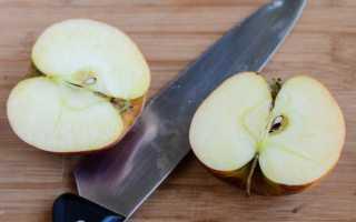 Что делать чтобы яблоки не потемнели