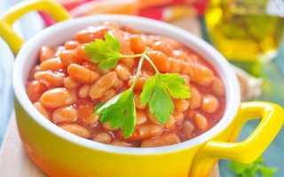 Подлива из фасоли в томатном соусе