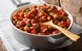 Соус с фасолью в томате
