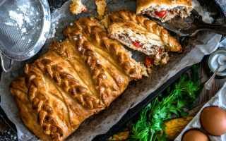 Рецепт кулебяки с капустой пошаговый рецепт