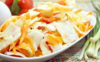 Рецепт маринованной белокочанной капусты