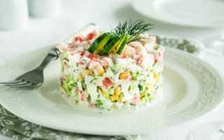 Что нужно для крабового салата с кукурузой