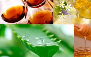 Приготовление лекарства из алоэ меда и кагора