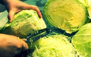 Рецепт рубленной квашеной капусты