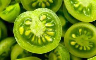 Томаты зеленого цвета сорта