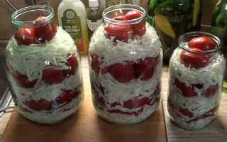 Рецепт засолки капусты с помидорами