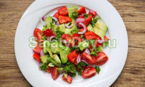 Авокадо с помидором рецепты