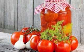 Как делать помидоры с чесноком на зиму