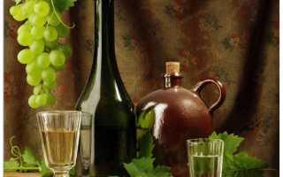 Как сделать виноградную водку в домашних условиях