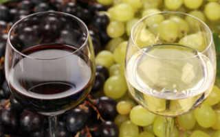 Грузинское вино из винограда изабелла