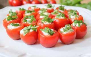 Чем начинить помидоры на праздничный стол