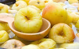 Какие яблоки лучше мочить на зиму