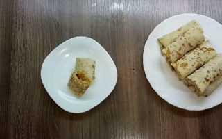 Блины с капустой рецепт с пошаговым фото