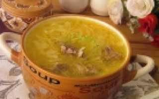 Рецепт приготовления щей из квашеной капусты