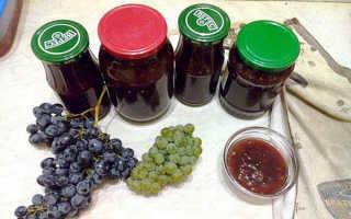 Джем из виноградного сока