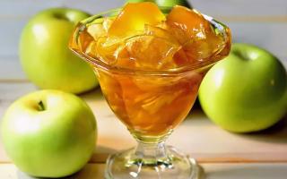 Быстрое варенье из яблок без закатывания