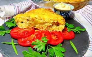 Картофельная запеканка с цветной капустой в духовке
