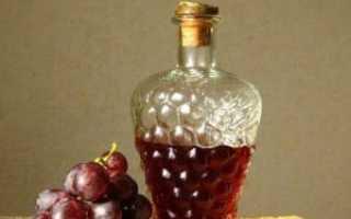 Как сделать домашний уксус из винограда