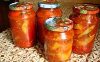 Перец острый в томате на зиму рецепты
