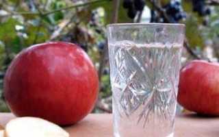 Чача из яблок в домашних условиях рецепт