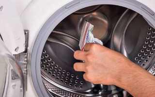 Промыть стиральную машинку лимонной кислотой и содой