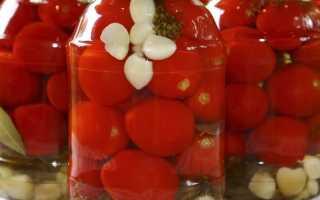 Вкусные соленые помидоры на зиму в банках