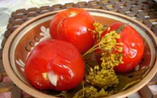 Сладкие маринованные помидоры бжу