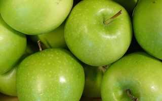 Сколько ккал в яблоке гренни смит