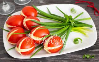 Салат тюльпаны из помидоров рецепт
