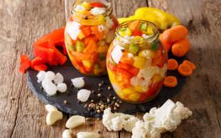 Как законсервировать цветную капусту на зиму вкусно