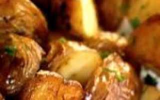 Запеченный картофель рецепт с фото