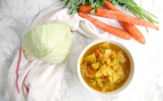 Как варить белокочанную капусту