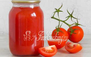 Как варить томатный сок на зиму