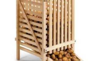 При какой температуре хранится картофель в погребе