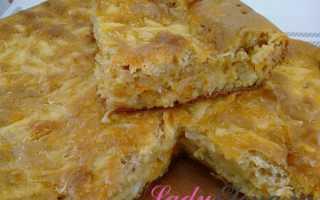Как испечь пирог с капустой на кефире