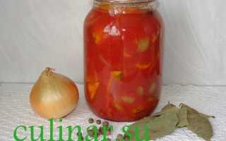 Патиссоны с томатной пастой на зиму рецепты